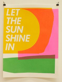 Let the Sun Shine In by laurabrownart on Etsy