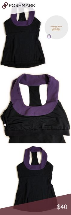 Lululemon Scoop Neck Tank Lululemon Tank Top. Mesh Racer Back. Pilling (see picture 3). Built in Shelf Bra. Great Preowned Condition 🚫No Trades🚫 lululemon athletica Tops Tank Tops