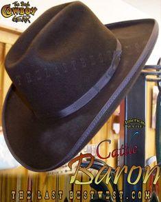 3414af21da4d8 Cattle Baron Cowboy Hat - The Last Best West