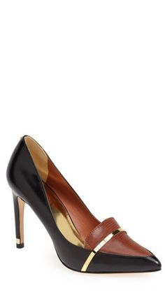 Fall Must-Haves: Two tone pumps http://www.revolvechic.com/#!heels/c6v2