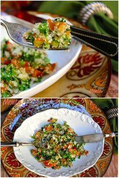 TABULE DE SALADA SÍRIA, leva poucos ingredientes e fica delicioso! Boa dica de acompanhamento
