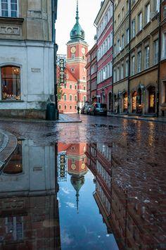 """niceoutdoors: """" Old Town - Warsaw, Masovian Voivodeship, Poland """" Krakow Poland, Warsaw Poland, Travel Around The World, Around The Worlds, Warsaw Old Town, Places To Travel, Places To Visit, Visit Poland, Poland Travel"""