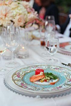 Pink Color Inspiration: Napa Valley Wedding at Meadowood - MODwedding