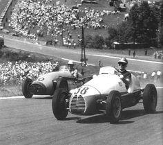 1953 belgian gp - fred wacker (gordini 16) 10th, andré pilette (connaught a) nc 29 laps