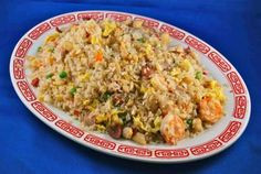 A Quick Recipe for Fried Rice with Pork, Ham or Shrimp: Fried Rice