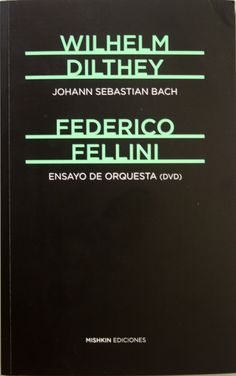 El erotismo musical o Don Giovanni, de W. A. Mozart / Sören Kierkegaard . Johann Sebastian Bach / Wilheim Dilthey. + info: http://www.elargonauta.com/libros/johann-sebastian-bach-ensayo-de-orquesta-el-erotismo-musical/978-84-942189-3-4/