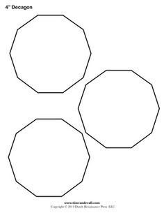 site calculates sizes of various regular polygons for