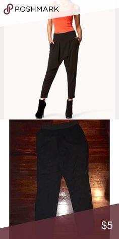Harlem black pants. 10/10 size small with pockets.. ( picture is an example of it) Forever 21 Other