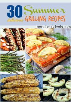 Summer Grilling Recipes. Main dishes, side dishes,