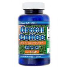 Green Coffee Bean Extract 800 with GCA Dimagranti dieta capsule vegetali