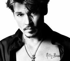 Johnny Depp is one cool-ass, sexy-ass, fine-ass man!