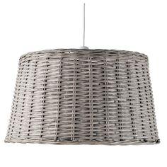 FOUESNANT wicker pendant lamp D 64cm