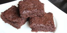 Allergy Free Chocolate Brownies: half the sugar than most recipes and you can't tell.  Gluten free, dairy free, soy free, egg free and nut free