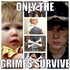 Technically only Carl grimes survives. Tomato tomato