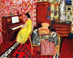 Henri Matisse - Pianist and Checker Players