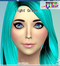 Darkiie Sims 4: Shiny Colored Non-Default Eyes • Sims 4 Downloads