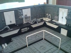 warhammer 40k space hulk diorama