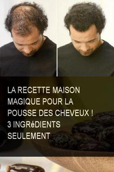 La recette maison magique pour la pousse des cheveux ! 3 ingrédients seulement #Cheveux #Maison #Ingredient #Ingredients #Recette #Magique #Pousse