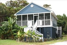Private Homes Vacation Rental - VRBO 315147 - 3 BR Folly Beach House in SC, Second Row Bungalow Waiting on You