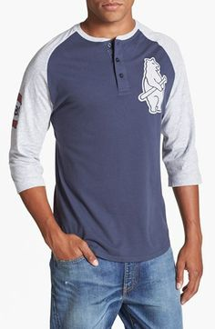 Wright & Ditson 'Chicago Cubs' Baseball Henley available at #Nordstrom