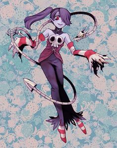 Squigly (and Leviathan), dead-soprano in Skullgirls