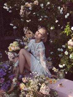 Hana Jirickova for Vogue China March 2014 by Camilla Akrans