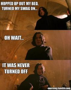 20 Tumblr posts about Harry Potter, Ron, Hermione, Snape, Dumbledore, and the rest of the Hogwarts funky bunch. Best Harry Potter memes ever.