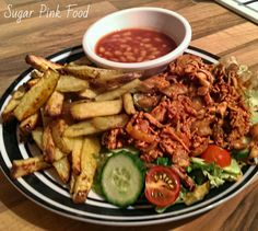 I love Mexican food and this is a great twist on the traditional fajita.  Delicious slow cooked pulled chicken with a spicy kick.  I served...