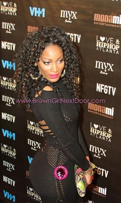 Erica Dixon from Love and Hip Hop Atlanta