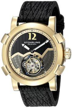 Stuhrling Original Men's 'Tourbillon' Mechanical Hand Watch