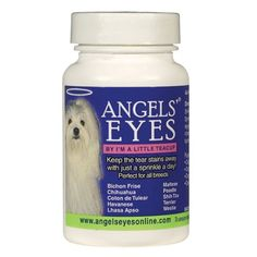 Angels' Eyes Tear-Stain Eliminator for Dogs and Cats, Sweet Potato Flavor, 120 Gram Bottle