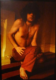 Syd Barrett photographed by Mick Rock, 1969.