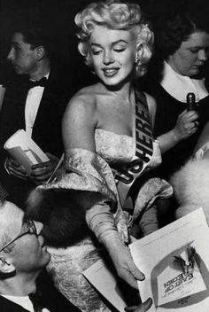 MarilynThe East of Eden Premiere In New York;1955