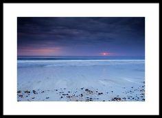 Mysterious Ocean Sunrise. Fine art photography print by Dapixara.