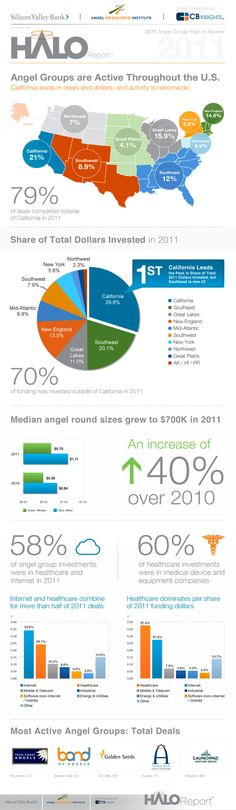 Infographic - 2011 HALO Report - Angel Investing