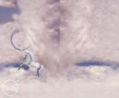 ÚPLET - unicorn and moon panel väčší Unicorn, Moon, Celestial, Scrappy Quilts, The Moon, Unicorns