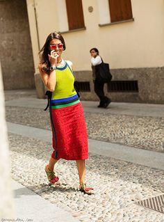 Get Inspired / Viviana in Milan