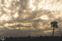 Y el atardecer mágico desde uno de los senderos, en este caso acompañado de un cielo cubierto de nubes, le brindan a las imágenes una atmósfera de ensueños