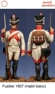 Empire, Military Figures, French Army, Miniature Figurines, Napoleonic Wars, Troops, Modeling, Sculptures, Hobbies