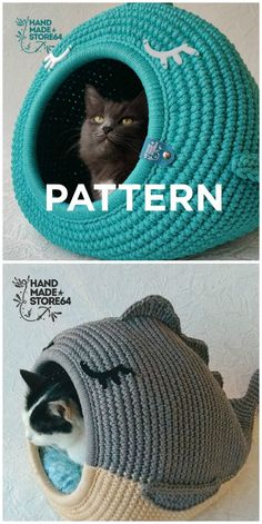 Gato Crochet, Crochet Cat Toys, Crochet Home, Crochet Patterns Amigurumi, Crochet Animals, Crochet Crafts, Crochet Stitches, Crochet Projects, Sewing Projects