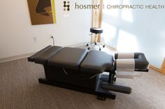 When you see our chiropractic tables, you know your body and spine are going to feel relief soon.   HosmerChiropractic.com