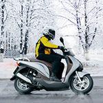 Delticom AG/MotorradreifenDirekt.de: Mit der richtigen Bereifung auf zwei Rädern sicher durch die kalte Jahreszeit