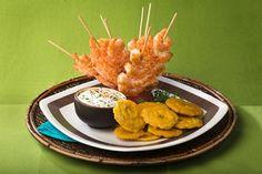 Detalles para la preparación de la receta de Pinchos de camarón con mayonesa al ajillo con imágenes y calificación de usuarios en PRONACA Procesadora Nacional de Alimentos