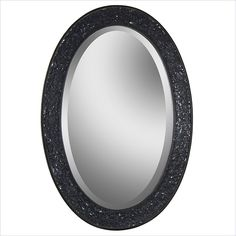 Renwil Harmony Oval Mirror in Black - MT1075 - Lowest price online on all Renwil Harmony Oval Mirror in Black - MT1075