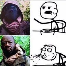 yep this was me when I saw it was Morgan.