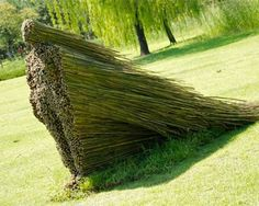 Land Art by Olga Ziemska, a sculptor hailing from Cleveland, Ohio. Absolutely LOVE this!