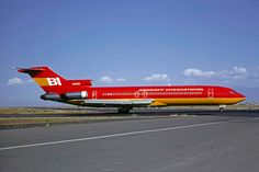 Braniff Airlines - April, 1982
