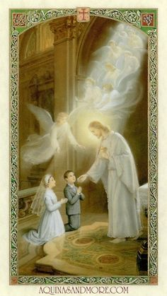 My First Holy Communion Prayer Card