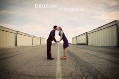Darcey and Jason's Engagement Photography at the Airport and Hog Lake in Red Bluff, CA