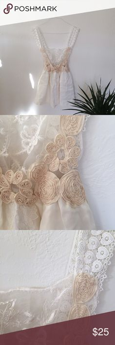Lace backless dress Lace backless dress / bohemian style / low back / never worn Free People Dresses Mini
